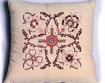 Embroidery pattern KURBITS - needlepoint,embroidery patterns,cross stitch,anette eriksson,scandinavian,swedish,needlepoint crafts,diy,blue