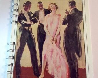 Vintage Image Notebook