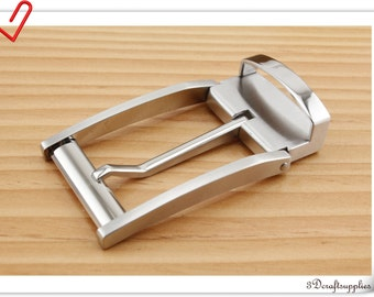 Stainless steel Belt buckle Men and Women For 1 1/4  inch ( 33 mm ) strap  AT7