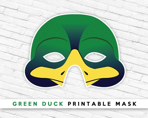 Easter Duck Mask 93