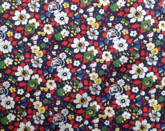 Liberty fabric RARE colour way of Betsy Ann tana lawn - stash builder 10ins x 13ins