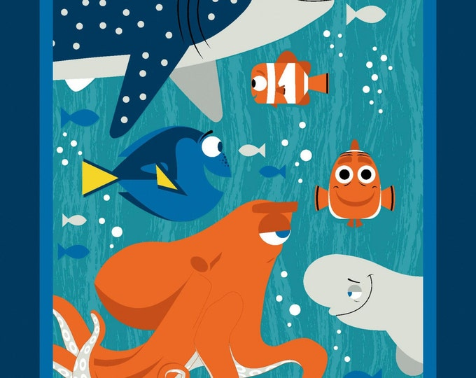 Disney's Finding Dory 34 inch Cotton  Panel
