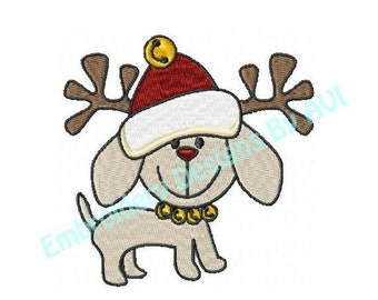 SALE 65% off Christmas Puppy Dogs Machine Embroidery Designs - Set of 10 Instant Download Sale