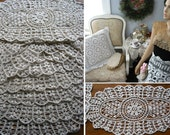 lot of 50psc WaterSoluble LACE Doilies Chabby Victorian VTG Wedding ,Arts & Crafts projects  ,100% cotton Tea Party ,Purse and Pillows,