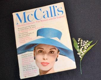 1960 McCall's March Magazine