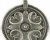 Odin Nordic Pewter Pendant Symbolic Viking Jewelry Power and Protection Amulet cast in fine pewter
