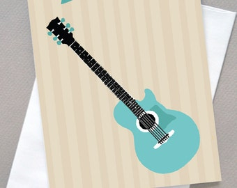 Father's Day Guitar, For Dad, Dad, Father, Guitar