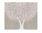 Reserved Listing - Flower and Tree Paintings - MADE TO ORDER