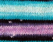 Yin and Yang - GRADIENT Self Striping - Hand Dyed SW Merino Sport Weight Yarn - Robust Sport