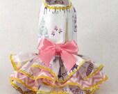 Spring Summer dress for dogs Pink Paris