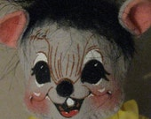 Vintage AnnaLee Mouse Doll - Bowling Theme