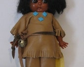 Carlson Dolls - Apache Brave - Indian Doll - Made in U.S.A.