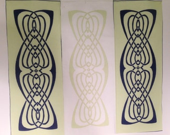 Viking Irish Celtic knot fabrics quilting