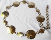 RESERVED LISTING Concha Belt, Shell Belt, Cowrie Necklace