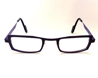 Rectangle glasses Clear glasses Wire Glasses Square glasses Titanium glasses Brown glasses Contemporary glasses Minimalist glasses