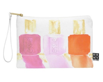 Watercolor Essie in Pink Pouch
