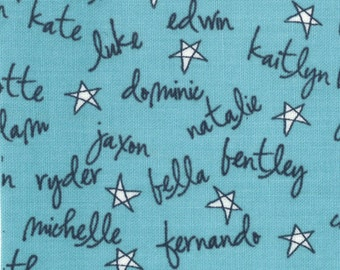 Lucy's Crab Shack 1 yard Remnant 5485-22 Blue