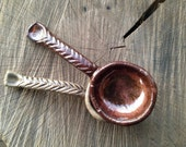 Rustic Spoon - Handmade - Hand Carved - Coffee Scoop  - Arrow