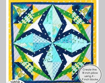 Rockstar #228 - 9 inch - Paper Pieced Quilt Pattern