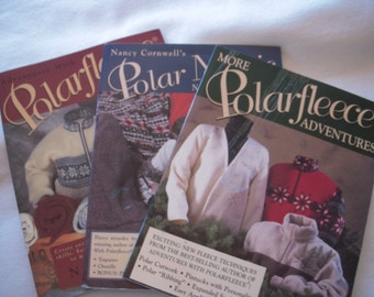 Polar Fleece Books (set of 3)