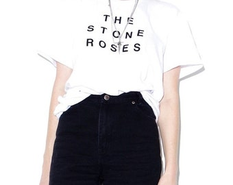 HURRY HALF OFF The Stone Roses t shirt band tee band shirts band tshirts 90s shoegaze goth gothic 90s grunge