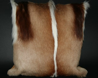 Springbok Pillow Authentic South African Springbok Hide/Fur