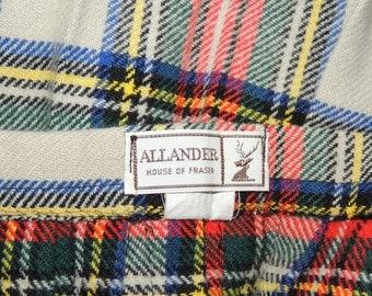 House of Fraser Allander Scotland Kilt and Vest S to M