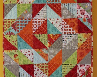 Small Quilt ~ Patchwork Quilt ~ Baby Quilt