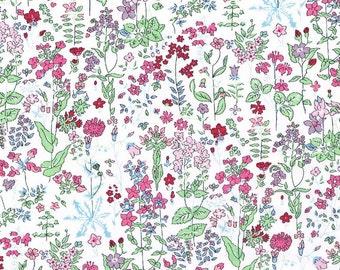 Liberty Fabric  Tana Lawn One Yard Field Flowers C
