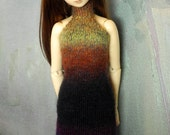 SD BJD handknitted dress Earth Magic
