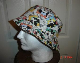Adult Cartoon Characters Reversible Bucket Hat