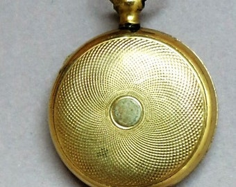 Vintage Gold Filled Locket and Chain