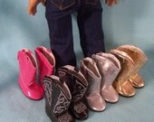 American Made 18 inch Doll Demin Boot Cut Jeans fits American Girl Dolls