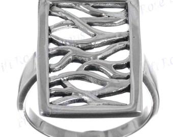 Bali Art Design 925 Sterling Silver Sz 6 Ring