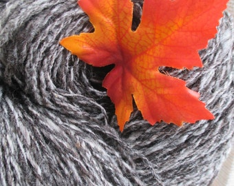 Shades of Gray Handspun Wool Yarn