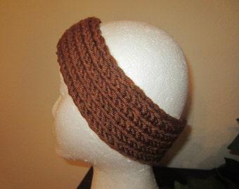 Mahogany Hand-Knit Headband
