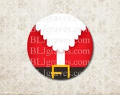Christmas Santa Stickers Holiday Envelope Seals Party Favor Treat Bag Stickers