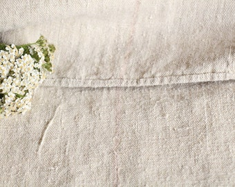 PB 706: antique classy grainsack faded ROSE ; 리넨;  holiday feeling pillow cushion 48.03 long thanksgiving