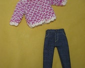 Sweater Coat and Jeans for Blythe
