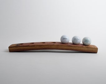 7 Ball Barrel Golf Ball Display