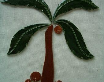 CL5 - PALM TREE Set - Ceramic Mosaic Tile Set