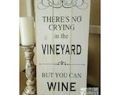 Handpainted Vineyard sign