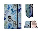 Kindle Paperwhite Cover, Kindle Cover Hardcover, Kindle Case,Kindle Fire HDX, NookGlowLight (New Elastic Corners Inside) Octopus