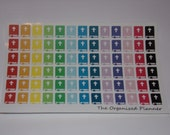 Bible Stickers / Rainbow Stickers / for your Erin Condren / Filofax / Calendar / Scrapbooking