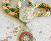 Vintage IOOF Oddfellows Rebekah Ceremonial Medal - Muscian