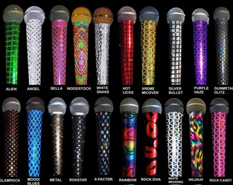 MIC SLEEVE, Mic Skin, Microphone Cover  for CORDLESS mics only