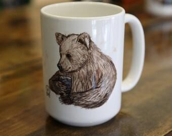 Big Bear Coffee and Tea Mug