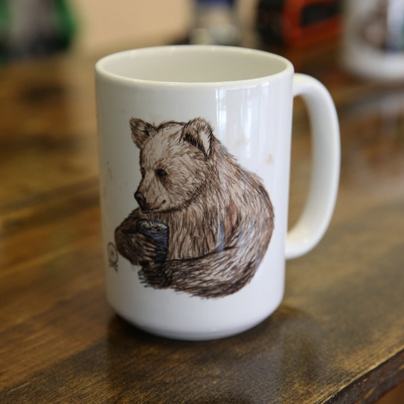Big Bear Coffee and Tea Mug