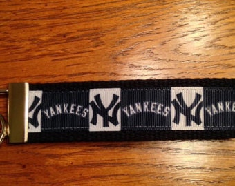 Yankees Key Fob Keychain