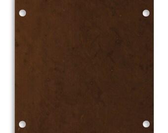 2 pieces Stable Door Frame Brass Blank, Vintaj Natural Brass P426